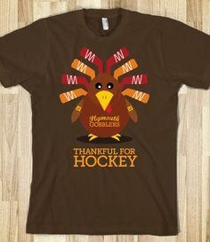 Thankful for Hockey T-shirt