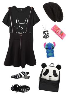 """""""Untitled #5041"""" by northamster ❤ liked on Polyvore featuring Monki, David & Young, ASOS and JuJu"""