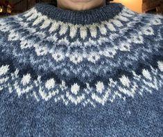 Fair Isle Knitting Patterns, Sweater Knitting Patterns, Knitting Socks, Hand Knitting, Knitted Hats, Icelandic Sweaters, Wool Sweaters, Aran Weight Yarn, Knit Stockings