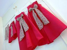 Cortege for a wedding - red & liberty meadow - Citronille Pimprenelle & Eliette Pattern