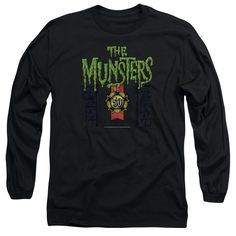 Munsters: 50 Year Logo Long Sleeve T-Shirt