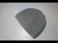 Crochet Uncinetto Cappello tutorial passo a passo - YouTube Hand Crochet, Crochet Baby, Knit Crochet, Crochet Gratis, Free Crochet, Crochet Beanie, Knitted Hats, Crochet Tablecloth, Crochet Videos