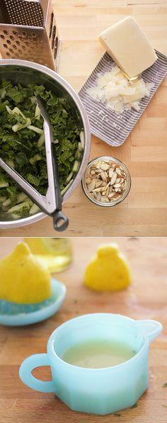 Kale & Honeydew Summer Salad (use raw coconut nectar instead of agave)