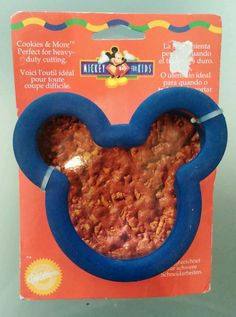 Wilton Mickey Mouse Comfort Grip Cookie Cutter New HTF Mouse Ears Disney in Home & Garden, Kitchen, Dining & Bar, Cake, Candy & Pastry Tools | eBay