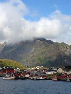 Leknes in Norway