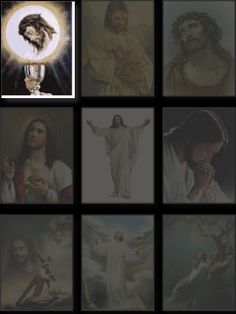 An animated gif. Make your own gifs with our Animated Gif Maker. Heart Of Jesus, God Jesus, Free Animated Gifs, Jesus Loves Us, Just Magic, Happy Birthday Wishes Cards, Jesus Christ Images, Way To Heaven, Holy Mary