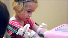 "3D Printed ""Magic Arms"" Help Little Girl Give Hugs, Demonstrate How Technology Can Change Lives And Maybe The World"