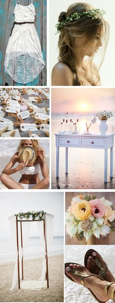 I don't think a beach wedding would fit me but I love the idea of it & how beautiful it would be.