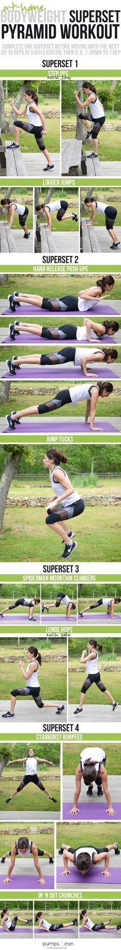 Blast calories with an at-home bodyweight workout!