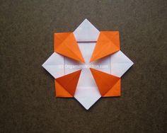 Origami Instruction Coaster | Origami Instruction