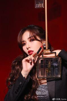 Hyuna at YSL event in Shanghai Triple H, El Divo, Hyuna Kim, Boyfriend Names, Asian Make Up, Kpop Girl Bands, Beauty Makeup Photography, Korean Beauty Girls, E Dawn
