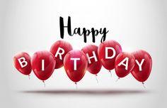 Entdecke tausende in AI- und EPS-Formaten verfügbare Premium-Vektoren Cool Happy Birthday Images, Happy Birthday Wallpaper, Happy Birthday Video, Birthday Wishes And Images, Birthday Wishes Quotes, Happy Birthday Balloons, Happy Birthday Greetings Friends, Happy Birthday Greeting Card, Happy Birthday Messages