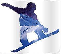Snowboard  Poste #snowboard  Poster