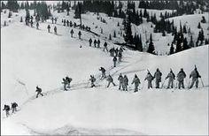 "Soldiers of the 10th Mountain Division are the subject of Warren Miller Entertainments recent documentary ""Climb to Glory."""