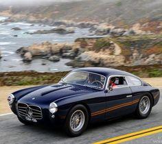 Maserati A6G Zagato Auto Retro, Retro Cars, Vintage Cars, Bmw Classic Cars, Classic Sports Cars, Classic Mercedes, Roadster, Amazing Cars, Sport Cars