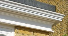 Get the orangery look using a perimeter edge fascia with guttering. Shown here is a close up of a corner junction of 'The Bloomsbury' orangery fascia. Patio Roof, Pergola Patio, Pergola Plans, Pergola Ideas, Pergola Kits, Metal Pergola, Patio Ideas, Black Pergola, Curved Pergola