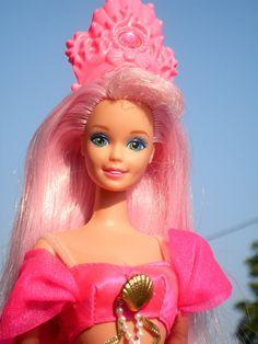 Barbie fountain mermaid :-)