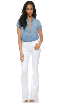 a9e9f4a760 McGuire Denim Majorelle Flare Jeans Wide Leg Jeans