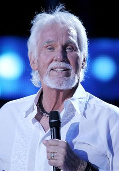 Kenny Rogers-Love him.  I want to meet him