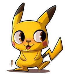 Pika pika designed by Adrian Pontoh. Character Concept, Concept Art, Character Design, Pokemon Go, Pikachu, Mascot Design, Creature Design, Cute Drawings, Color Patterns