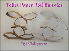 Love this different take on the Toilet Paper Roll Bunny! :)