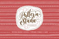 Pattern Studio by Ornaments of Grace on @creativemarket
