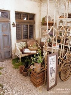 junk furniture shop by studio soo, via Flickr