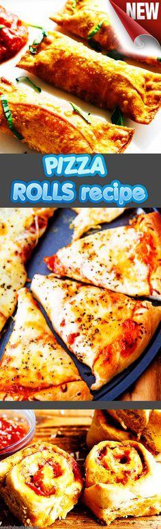 Homemade Pizza Rolls Recipe pizzas