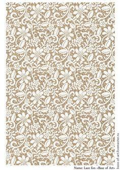 Купить или заказать Декупажные карты 'Base of Art' 'Lace fon' в интернет-магазине на Ярмарке Мастеров. Коллекция кружевных фоновых декупажных карт. Белое кружево в сочетании с текстильным бежевым фоном. Еще больше выбор на фирменном сайте.