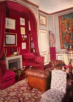 Christian Dior. Paris Apartment. Georges Geffroy and Victor H. Grandpierre