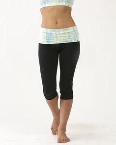 Tie-Dye Print Leggings (Short) / moani yoga / yoga bottoms