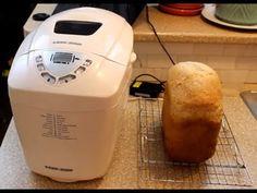 3 lbs Bread Maker loaf of bread - Peter's Kitchen Corner - Episode 1 Black And Decker Bread Machine Recipe, Bread Machine Recipes, Kitchen Corner, Powdered Milk, Keurig, Sandwiches, Baking, Youtube, Videos