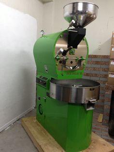Industrial coffee roaster