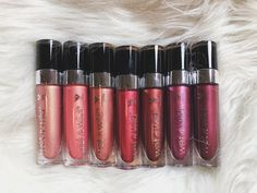 2018 Wet n Wild – Wet N' Wild Liquid Catsuit Lipstick Metallics Wet N Wild Catsuit, Liquid Catsuit, Drugstore Makeup Dupes, Beauty Dupes, Beauty Products, Makeup Products, Revlon Products, Beauty Makeup, Fancy Makeup