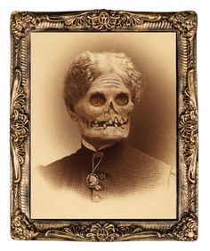 NEW & NEVER USEDThis portrait is a must have for your next Halloween party or haunt. Aunt Hazel is a holographic portrait, of a sweet loving grandmother, that changes faces into a rotted corpse as you walk by. Cheap Halloween, Gothic Halloween, Halloween Home Decor, Halloween House, Spirit Halloween, Scary Halloween, Halloween Decorations, Halloween Party, Halloween Ideas