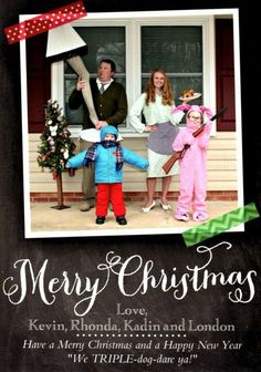Sent in by Rhonda K. from Stateville, NC. Send Us Your Holiday Cards!....sooo many good ones!!