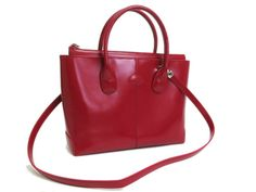 #Tods Hand #bag Leather Red (BF058139)