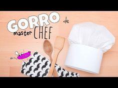 GORRO DE COCINERO - YouTube