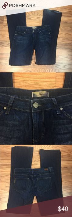 Paige Denim flare jeans. Some wear on hem PAIGE Pants