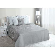 Luxusni prehoz na postel sede barvy