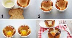 Verwarm de oven voor op 190 °c, zet de bakjes 10-12 minuten in de oven of tot het ei gestold is.