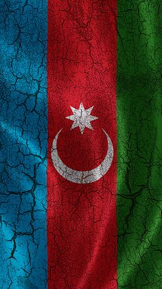 Grunge effect Azerbaijan flag. Independence Day History, Independence Day Images, Azerbaijan Flag, Iphone 6 Plus Wallpaper, Republic Day, Love Images, Aesthetic Pictures, Drawings, Muslim Hijab