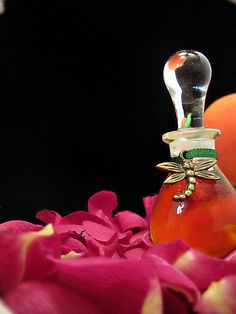 Bottom's Dream Natural Perfume Peach Floral by EsscentualAlchemy, $150.00