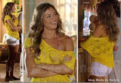 moda da novela flor do caribe - ester capítulo 27 de março de 2013