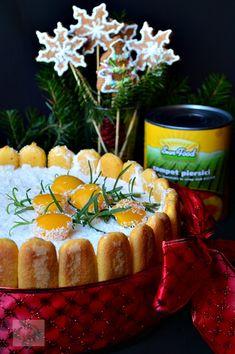 Tort diplomat cu piersici din compot - CAIETUL CU RETETE Diy And Crafts, Cheesecake, Desserts, Food, Tailgate Desserts, Deserts, Cheesecakes, Essen, Postres