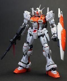 GUNDAM GUY: RG 1/144 RX-78 Gundam GP-01 Zephyranthes - Painted Build