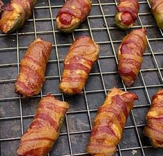 Smoked Atomic Buffalo Turd Jalapeno Poppers (aka - A.) Geräucherte Atomic Buffalo Turd Jalapeno Poppers (aka - A. Pellet Grill Recipes, Grilling Recipes, Cooking Recipes, Smoker Recipes, Bbq Meals, Bacon Wrapped Sausages, Bacon Wrapped Jalapeno Poppers, Smoked Sausages, Sausage Stuffed Jalapenos