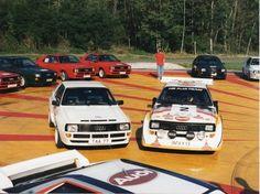 Audi quattro family