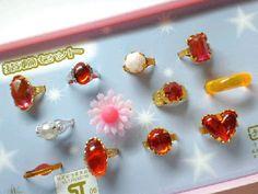 #大倉トーイ #おもちゃの指輪セット #80s /女子の夢♡