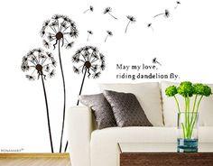 BONAMART ® Dandelion nursery kids room removable quote vinyl wall decals stickers AY695 Bonamart http://www.amazon.com/dp/B0089QXFDQ/ref=cm_sw_r_pi_dp_JcbQub012307K